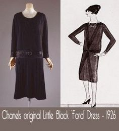 ... Coco Chanel Little Black Dress Vogue 1926 ...