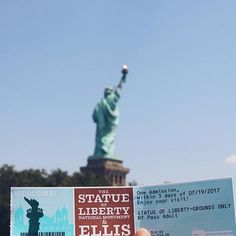 The Statue of Liberty 🗽  Day 4
