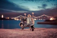 Travelling Cars Adventures project - Vintage car models potrayed by Kim Leuenberger