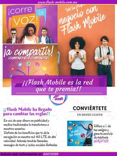 (1) FlashMobile-México (@FlashMobile_MX) | Twitter La Red, Flash, Twitter, Business, Earth, Heaven, Colombia, Books, Furniture