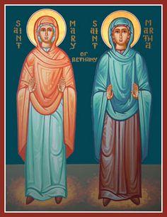 Saints Mary and Martha of Bethany
