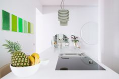 El centro del hogar - AD España, © Adriana Merlo, Batavia La cocina, que antes se encontraba en el fondo de la vivienda, ha adquirido un papel protagonista y ahora es el punto neurálgico.