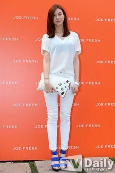 [2014.05.30] Cha Ye Ryun at the Joe Fresh launch party