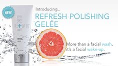 Lifeline's new Refresh Polishing Gelée delivers a time-saving trio of functions; gentle exfoliation of dead skin cells, thorough emollient cleansing and concentrated conditioning of skin's texture. #skincare #skinwakeupcall