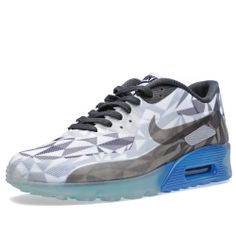 Nike Air Max 90 Ice (Wolf Grey, White & Anthracite)