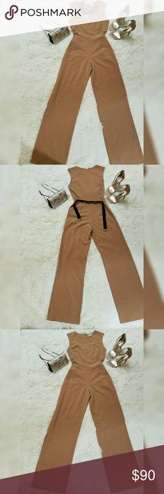 Haute Hippie Jumpsuit This jumpsuit is everything! You can go from work to girls night out to awards dinner to cocktail. Name it! Material is very soft and a bit stretchy. The color is a fine shade of brown which you can match with almost any color of shoes or purse. When you wear this jumpsuit, you'll never want to take it off. It has no defect at all. Great condition! Haute Hippie Other