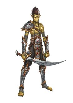 Githyanki from 5th Ed AD&D