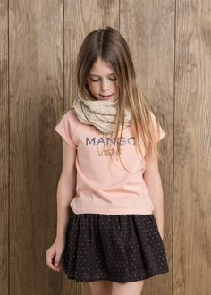 NEW - T-shirt Mango message