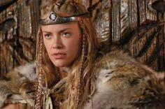 """Brunhild, Queen of Iceland, from """"Dark Kingdom: The Dragon King"""" also shown as """"Ring of the Nibelungs"""""""