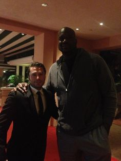 Kevin J. Ryan and Shaquille o'neill