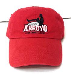vtg SGA-promo CINCINNATI REDS BRONSON ARROYO HAT Low-Profile Relaxed Men/Women #AssociatedPremium #CincinnatiReds