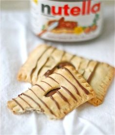 Nutella PopTarts.  They are so easy and look delicious :)