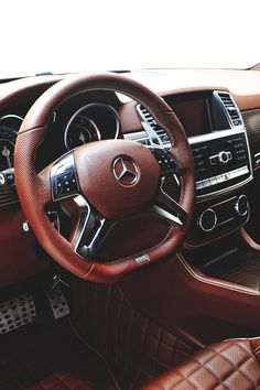Mercedes-Benz leather interior