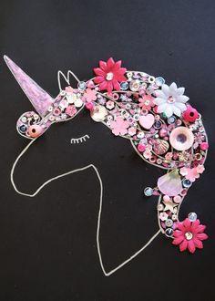 Finished really easy unicorn craft