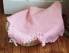 Jasie Baby Blanket - free pattern from Ravelry