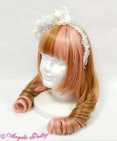 Angelic Pretty Elegant Rose Headbow