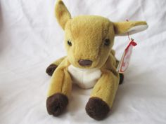 Vintage Beanie Baby 1997 Whisper the Fawn by jclairep on Etsy