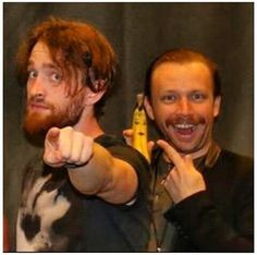 Platz and Ben<<<don't forget the banana! :O<---Yes, bananas are good!