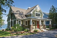 Country Style House Plan - 5 Beds 4.5 Baths 4608 Sq/Ft Plan #928-4 Exterior - Front Elevation - Houseplans.com