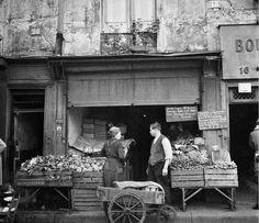 Ad Windig - Marchand de légumes, Paris, 1946.