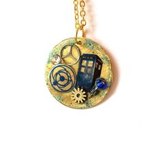 "Doctor Who Necklace ""Cosmic Exchange"""