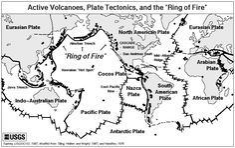 Ring Of Fire Map Worksheet - Worksheets