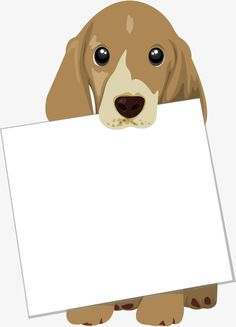 Vector pet dog bite cardboard text border PNG and Vector Animals And Pets, Cute Animals, Dog Salon, Pet Tags, Dog Birthday, Pet Home, Dog Walking, Dog Art, Rescue Dogs