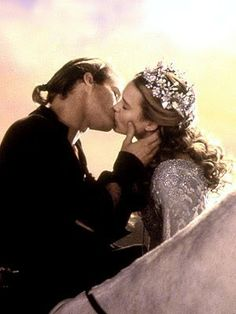"""Since the invention of the kiss, there have been five kisses rated the most passionate, the most pure. This one left them all behind. The end.""  The Princess Bride, Maybe my favorite love story. ^_^ in all of it's ridiculousness!"