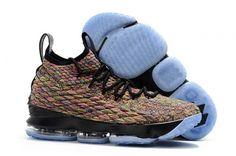 b52f53f6812 Discount Nike LeBron 15 Four Horsemen Multi-Color Black - Mysecretshoes Black  Basketball Shoes