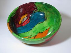 Dyed Maple Bowl~ Earl Kennedy