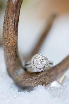 Round cut engagement ring: http://www.stylemepretty.com/2014/01/07/274353/ | Photography: Amy & Jordan - http://www.amyandjordan.com/
