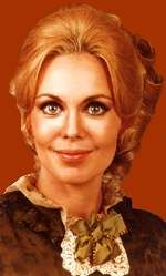 Dark Shadows a vampire soap opera  1966-1971, Angelique Collins played by Lara Parker.