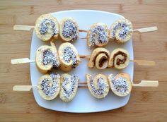 Les Crocs du Loupinet : Petites brochettes de roulés au nutella