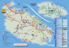 Comment se déplacer sur Malte et Gozo ? Tout savoir sur les transports en…