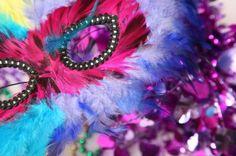 Plain Mardi Gras Masks | Mardi Gras Crafts for Kids