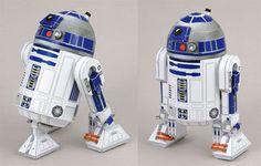 R2 D2 papercraft  pepakuracorner.blogspot.com