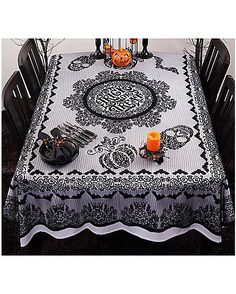 Trick or Treat Tablecloth - Decorations - Spirithalloween.com