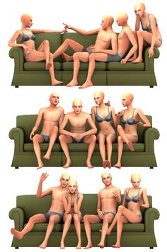 Group Poses #2• 3 Poses + All in one • Needed Pose Player and Teleport Any Sim [dl here] • Please don't re-upload this file, or claim it as your own Download