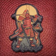 Samurai PVC morale patch