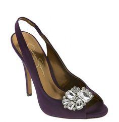 Purple Wedding Shoe Ideas #Purple #Shoe