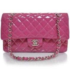 623a5241d1a2 This is an authentic fabulous CHANEL Patent Medium Double Flap. This bag is  as classic
