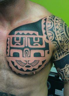 Amazingly Designed Marquesan Tattoo Patterns (38) #marquesantattoospatterns #marquesantattoosblack #marquesantattoostatoo