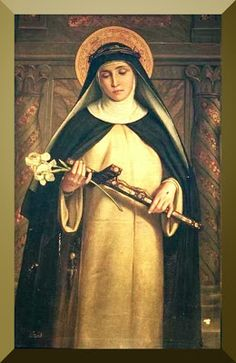 """St Catherine of Siena """"There is no sin or wrong that gives a man a foretaste of hell in this life as anger and impatience."""""""