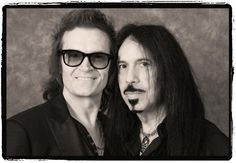 With My dear friend Frankie Banali... QR movie is the real deal... sad, angry, and honest... GH