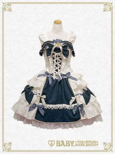 Baby, the stars shine bright Muse~Poetry for the prayer~jumper skirt Harajuku Fashion, Kawaii Fashion, Lolita Fashion, Lolita Cosplay, Japanese Fashion, Asian Fashion, Anime Outfits, Cool Outfits, Estilo Harajuku