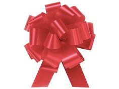 IMPERIAL RED Pull String Bows - Wide 20 Loops & ribbon) Set of 10 Ideal for gift baskets and gift packaging Pull Bows are made from flora satin ribbon Make perfect bows every time! Christmas Tree Bows, Christmas Gift Wrapping, Xmas Ornaments, Christmas Holidays, Xmas Tree, Christmas Wedding, Pull Bows, Wedding Gift Wrapping, Wedding Gifts