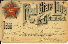red star line - Google zoeken