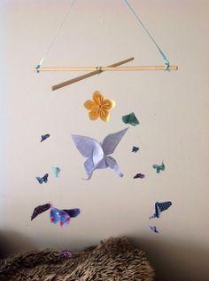 Mobiles De Papillon sur Pinterest | Papillons En Papier, Modèle De ...