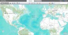 web mapping on Esri GIS Education Community