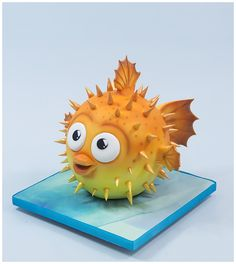 Paul Bradford introduces us to his adorable pufferfish cake. Perfect for animal lovers big and small and for those with a fondness of the sea.